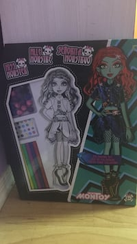 Monster high activity kit  Delta, V4E 1Y3