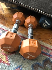 2-5 lb barbells  New York, 11218
