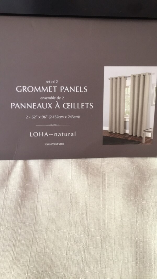BRAND NEW CURTAINS!