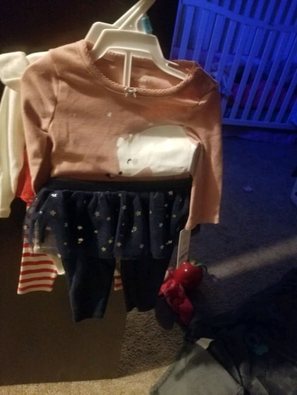 3-6mnth&6mnth babygirl clothes some brand new W/tags 93176e7d-9ec8-46b0-b471-01d98df23139