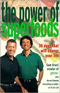 Read ad for Book Contents ** NOW $5***NEW *RETAILS $21.95*STOCKING STUFFER Power of Super Foods Book