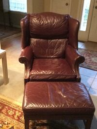 Red chair /ottoman leather Bealeton, 22712