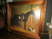 Horse Hound Fox Hunting Printed on Canvas: Toronto, M5N 2X3