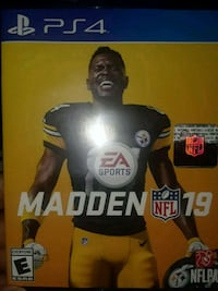EA Sports Madden 19 PS4 game case Lithonia, 30058