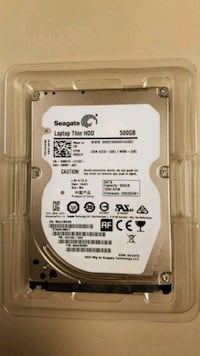 Hard drive Seagate Laptop Thin 500GB 7200RPM SATA