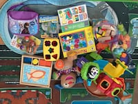 Assorted-color learning toy lot Secaucus