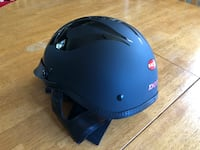 Size M. DOT approved Helmet with bag