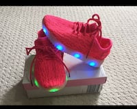 Kids LED Light  Up Sneakers USB Charger Girls Shoes Mississauga, L5N 6P2