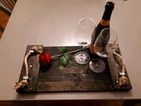 rustic wine or breakfast tray London, N6C 5P2