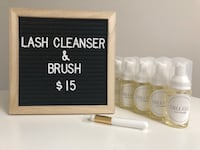 Lash Cleanser and Brush Toronto