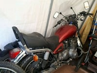red and black cruiser motorcycle Acton, L7J