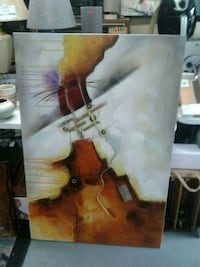 Barrel Shack large oil painting collectable  Burtonsville, 20866
