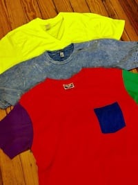 (3) American Apparel t-shirts MEDIUM New York, 11385