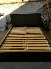 white and brown wooden bed frame Los Angeles, 90021