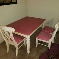 Study table with 4 chairs. We never use it.  Springfield, 65803