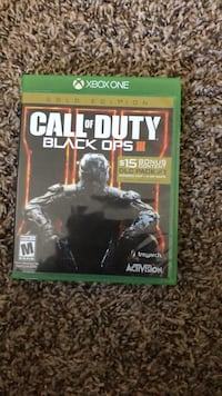 Call of Duty Black Ops 3 Xbox One game case 1949 mi