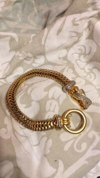 Gold and silver chain bracelet  Waxahachie, 75165