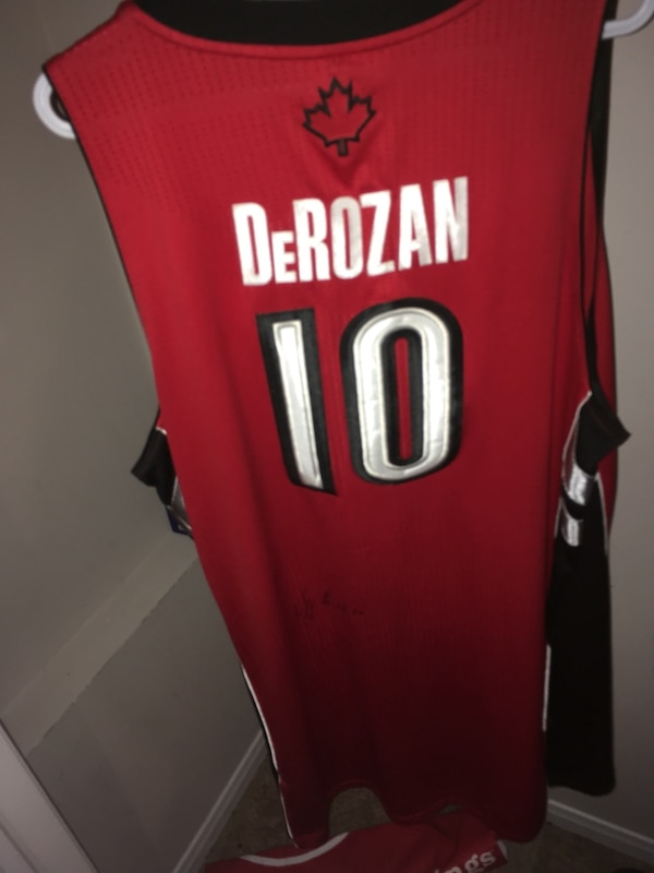 a5a9ec4357fa Used Demar Derozen jersey 4Xl for sale in Barrie - letgo