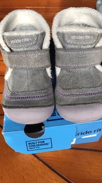 Pair of gray Stride Rite Boots  size 3.5 w Ashburn, 20147