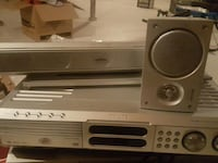 grey Philips DVD player