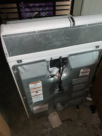 White front-load dryer.  Kennesaw, 30144