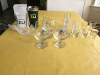 three clear glass beer mugs Euless, 76039