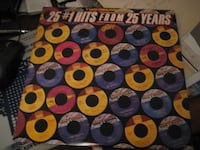 25 #1 Hits from 25 Years – 2 record sets – 1981 Motown Records - Vinyl TORONTO