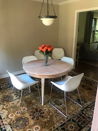 "Round dining table 42"" (chairs not for sale)"