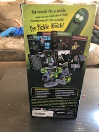Pickle Rick board game
