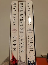 Maya Banks - 3 books $13