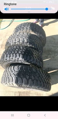 BF Goodrich Selling these mud terrain tires Good condition 255/75/17