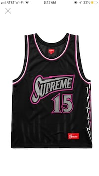 SUPREME Jersey Basketball Jersey Los Angeles, 90008