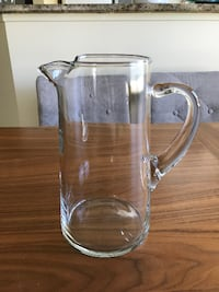 Glass Pitcher Victoria