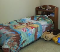 Twin bed with trundle bed and headboard (mattresses included) Oklahoma City, 73012