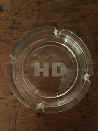 clear glass hd ash tray Bellevue, 54311