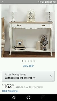 French Console Table Walton, 41094