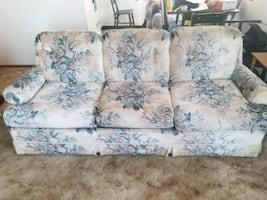 hide a bed couch, matching loveseat