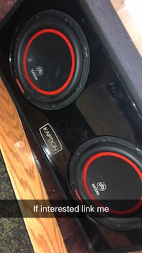 black and red Pioneer subwoofer speaker Vaughan, L4L 3V5