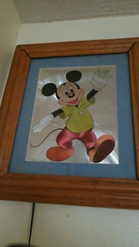 Mickey Mouse and Minnie Mouse painting Waukegan, 60085