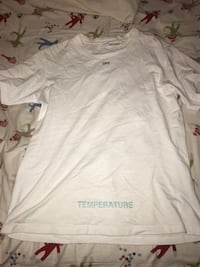 Off white temperature shirt (authentic) Centreville, 20120