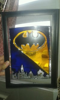 Batman stained glass art  Gatineau, J8Z 1T7