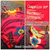 Girls Gap Swimsuit in Size 6/7 Edmonton, T5T 3E9