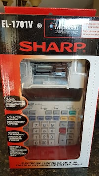 SHARP Electronic printing calculator  Milton
