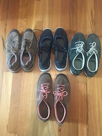 four pairs of low-top sneakers Nashville, 37209