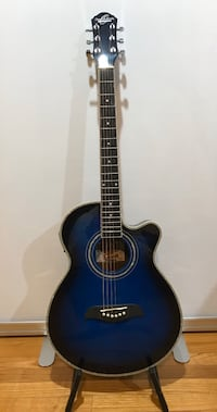 Brand new blue Oscar Schmidt guitar Arlington, 22204
