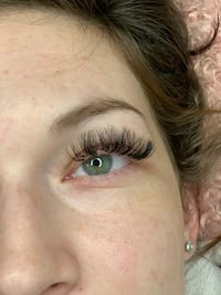 Light volume eyelash extensions Pitt Meadows