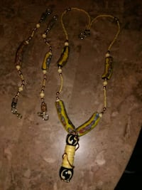 Custom-made African necklace and bracelets Milwaukee, 53212