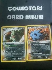 Dark Tyranitar and Dark Pupitar Card set West Covina, 91790