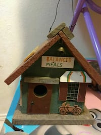 Balanced Meals printed wooden house miniature Laredo, 78043