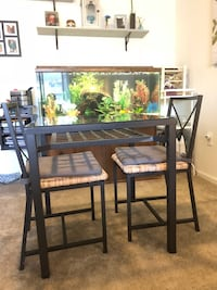 Glass top dining table Imperial, 63052